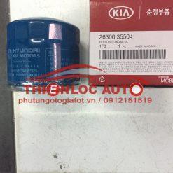 Lọc dầu động cơ Kia Forte, Cerato, Rio, Hyundai Sonata, Accent