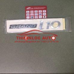 LOGO CHỮ NỔI GRAND I10